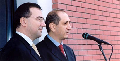 Dr. Paris Kokorotsikos (left) and Stathis Tavridis (right) co-Founders of the Company
